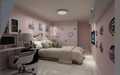 卧室背景墙现代风格装潢设计图片