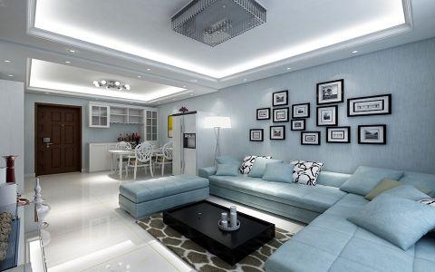 逸龙花苑70平一居室现代风格装修效果图