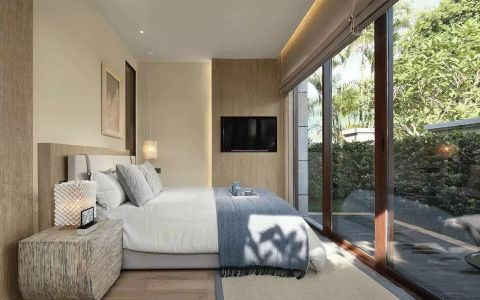 卧室飘窗中式风格装饰图片