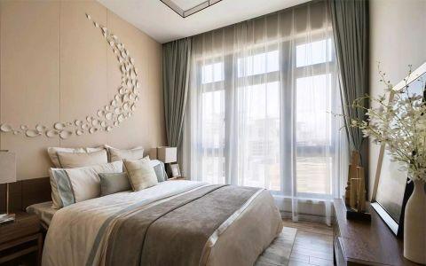 双街新家园120平中式装修二居室装修效果图