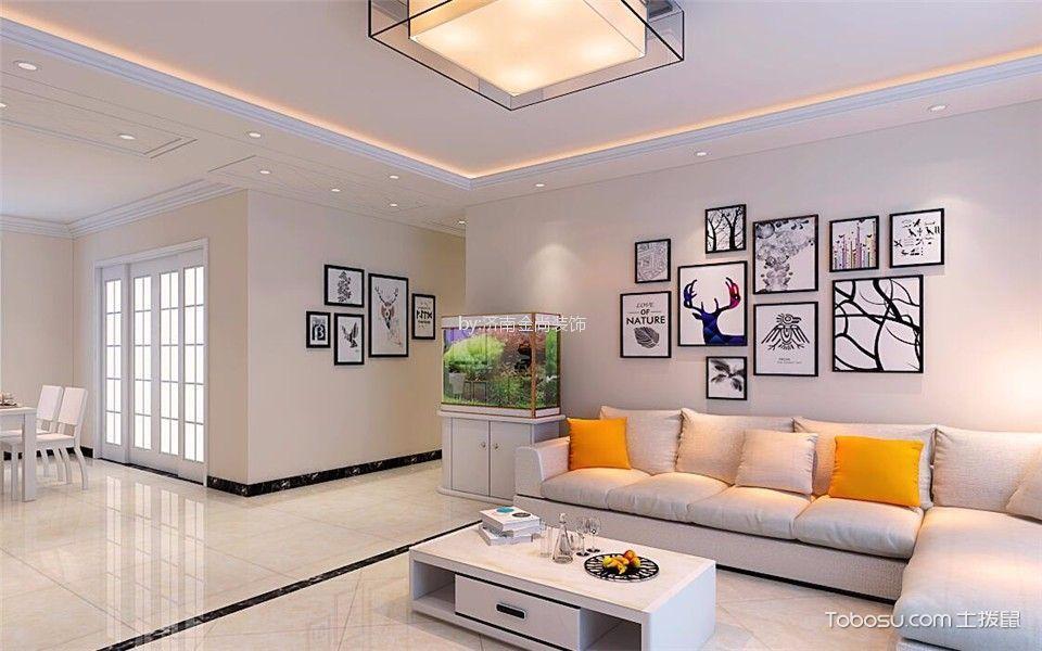 2019现代90平米装饰设计 2019现代三居室装修设计图片图片