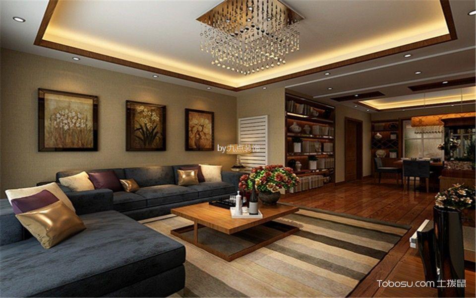 2019古典110平米装修设计 2019古典二居室装修设计