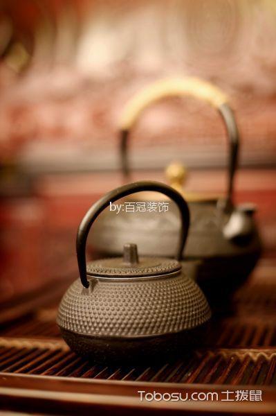 客厅咖啡色细节新中式风格装修效果图
