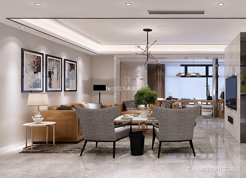 现代风格260平米别墅新房装修效果图