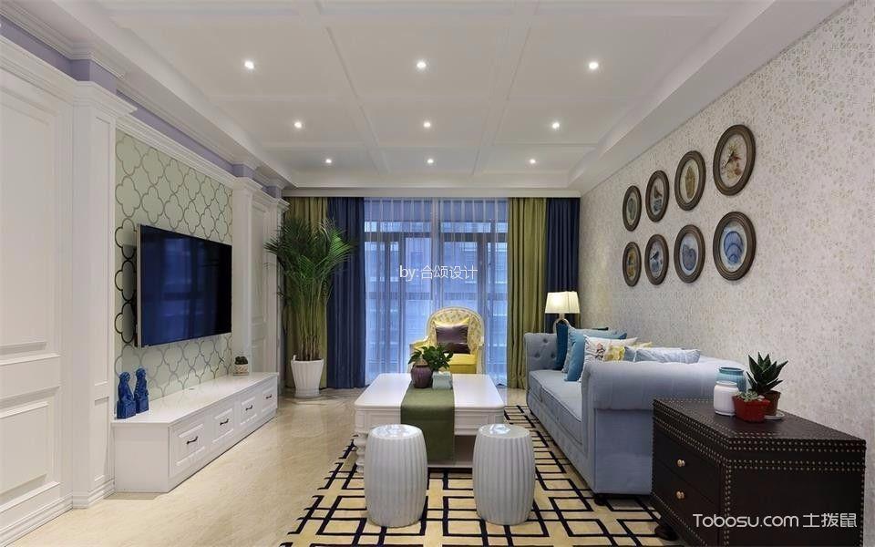 2019法式110平米装修设计 2019法式二居室装修设计