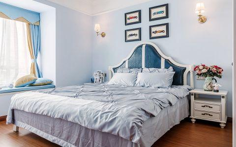 卧室照片墙地中海风格装潢效果图