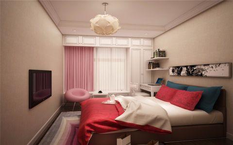 卧室飘窗新中式风格装饰图片