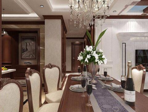 餐厅走廊简欧风格装修图片