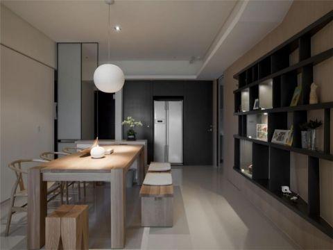 金隅悦城90平现代简约风格二居室装修效果图