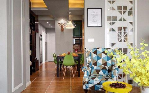 餐厅地砖现代简约风格装饰图片