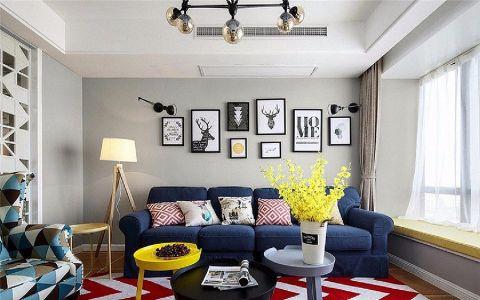力高君御世家100平现代简约风格三居室装修效果图