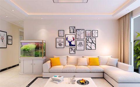 现代简约风格180平米楼房室内装修效果图