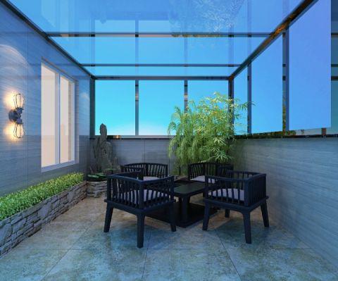 阳台窗台简约风格装饰图片