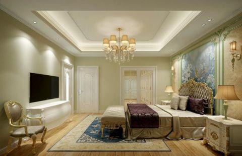 卧室吊顶简欧风格装修效果图