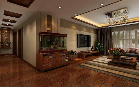 客厅吊顶古典风格装饰图片