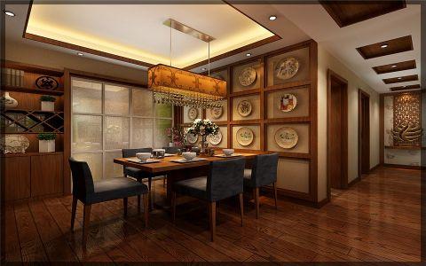 餐厅吊顶古典风格装饰设计图片