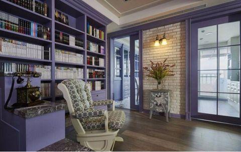 书房博古架混搭风格装潢图片