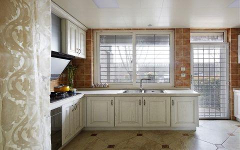 厨房窗台欧式风格装饰效果图
