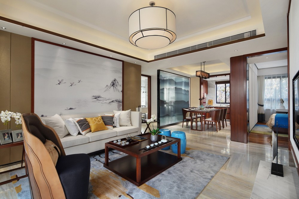 3室2卫2厅新中式风格