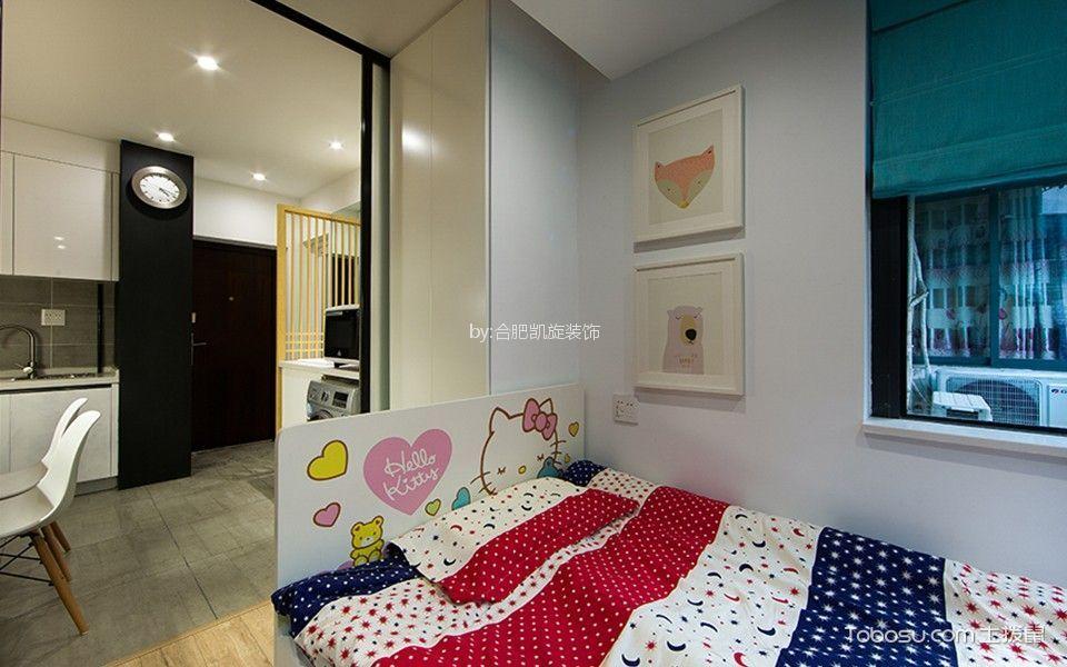 简约风格40平米小户型新房装修效果图