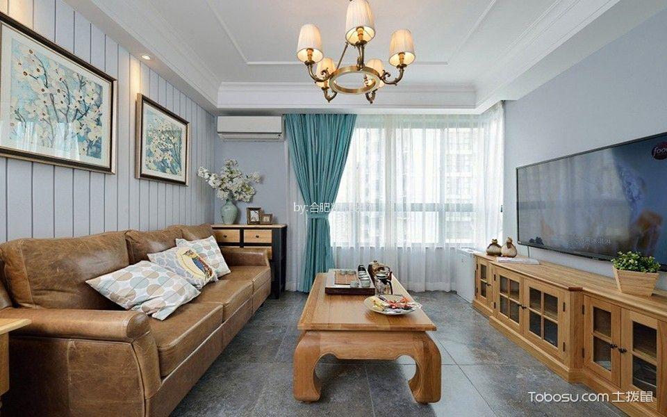 混搭风格120平米大户型室内装修效果图