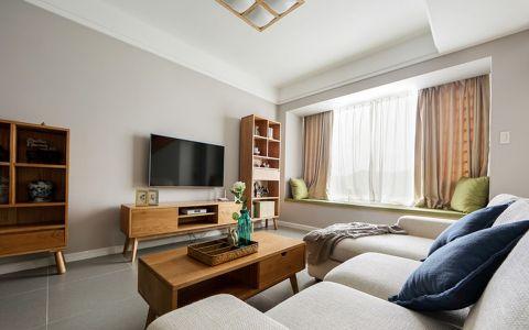 日式风格120平米大户型新房装修效果图