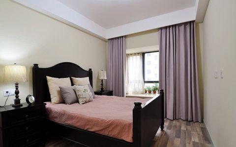 卧室窗帘现代风格装潢效果图