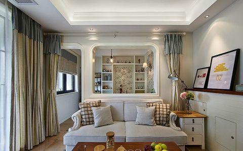 美式风格120平米大户型新房装修效果图