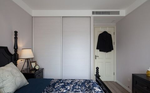 美式风格110平米楼房室内装修效果图
