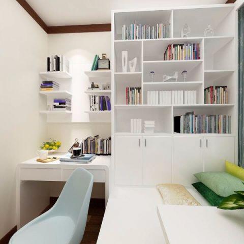 书房榻榻米新中式风格装潢图片