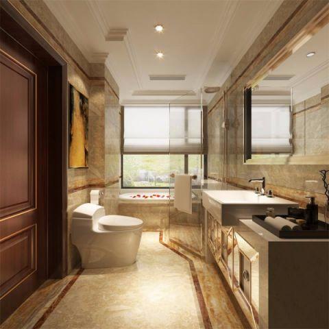 卫生间吊顶新古典风格装潢设计图片