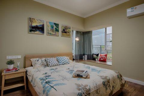 卧室照片墙简约风格装潢效果图