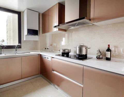 厨房橱柜北欧风格装修图片