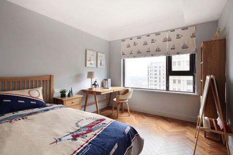 儿童房窗帘北欧风格装潢设计图片