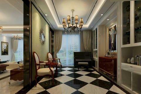 玄关走廊简欧风格装饰设计图片