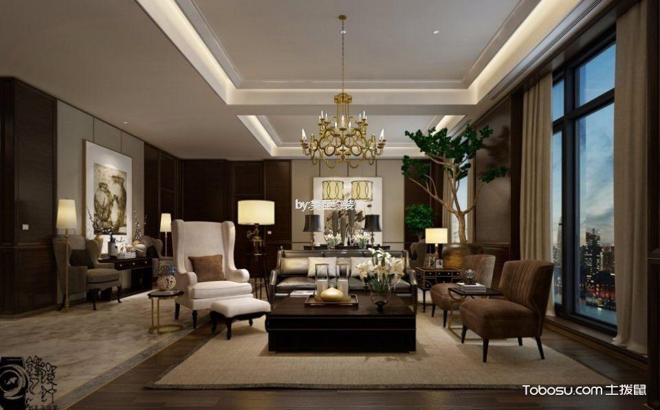 河西酒店客厅沙发装修图片