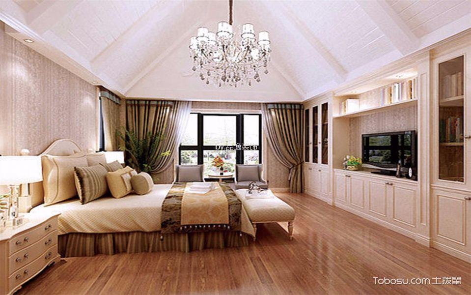 卧室 地板砖_欧式风格350平米别墅新房装修效果图