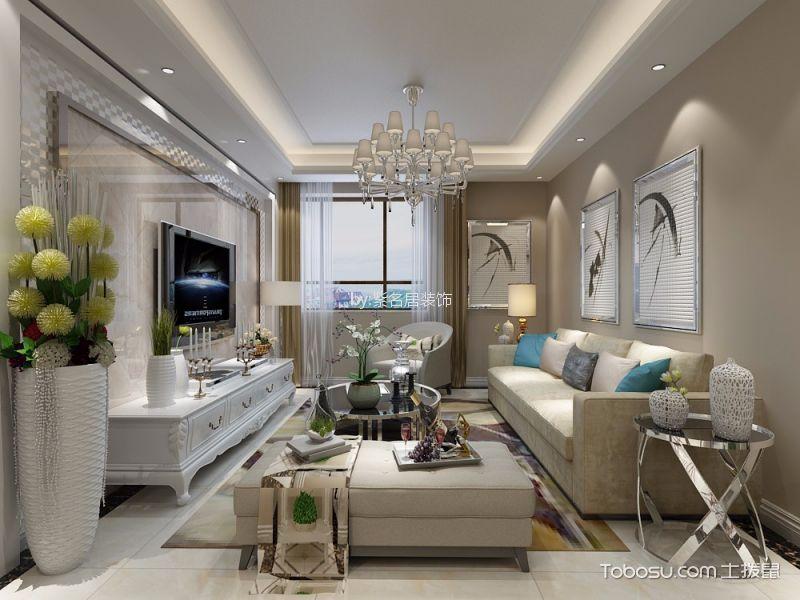 简欧风格100平米公寓新房装修效果图