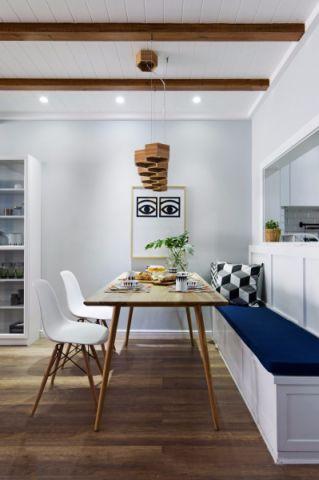 餐厅地板砖欧式风格装潢图片