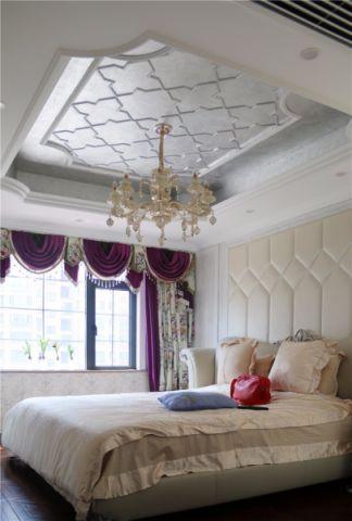 卧室吊顶新古典风格装潢效果图