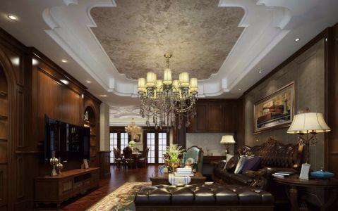 古典风格320平米别墅新房装修效果图