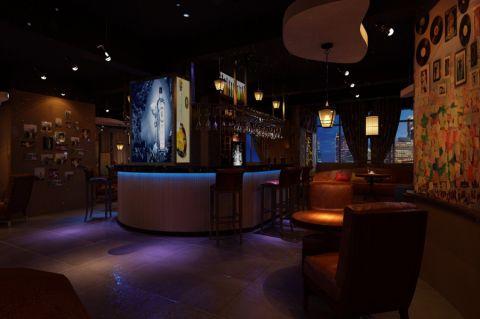 复古风酒吧装修效果图