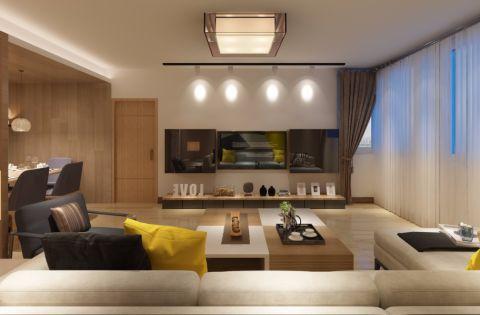 后现代风格120平米套房室内装修效果图