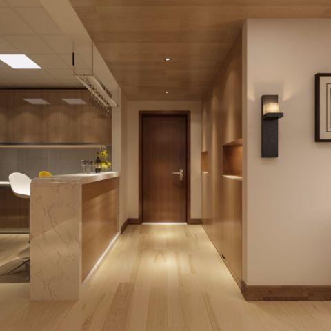 玄关走廊后现代风格装饰效果图