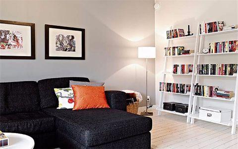 万科光明城市90平北欧简约风格二居室装修效果图