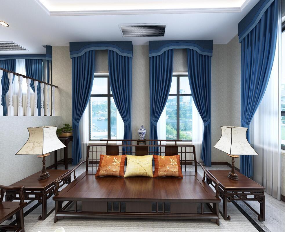 5室3卫4厅385平米新中式风格