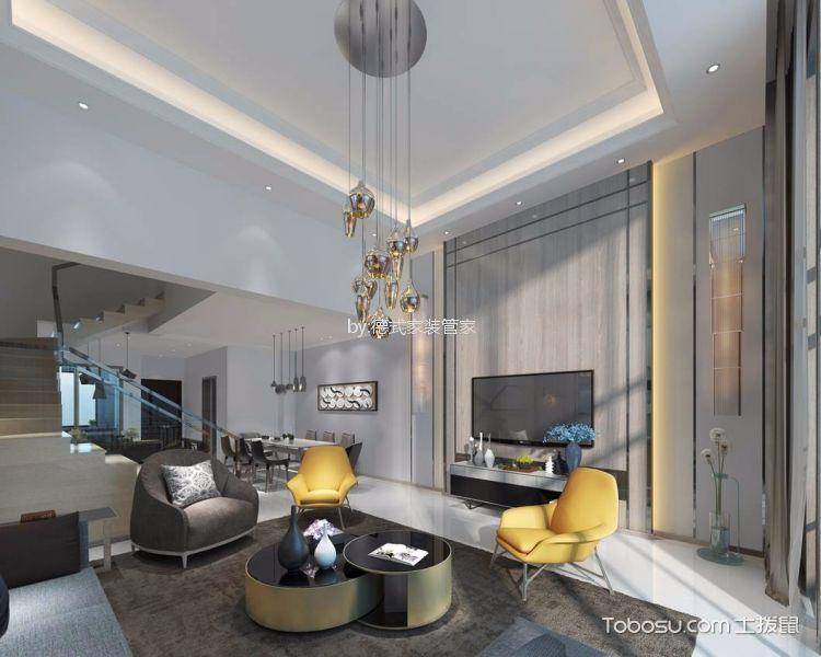 现代风格320平米别墅新房装修效果图