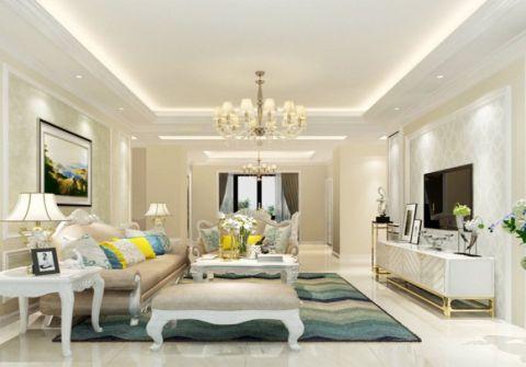 2021现代欧式110平米装修设计 2021现代欧式套房设计图片