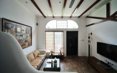 东南亚风格90平米两室两厅新房装修效果图