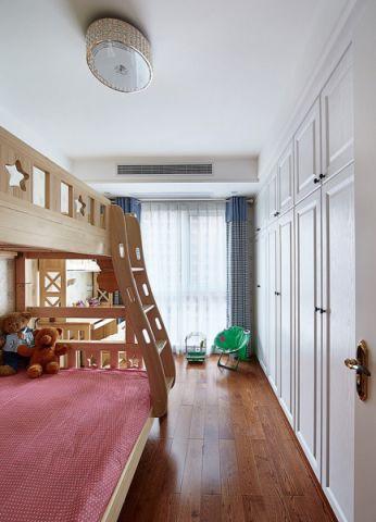 儿童房窗帘现代简约风格装饰图片